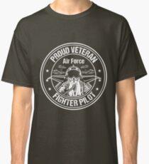 Proud Veteran Air Force Pilot Classic T-Shirt