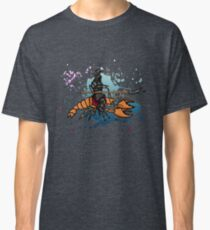 Knight on a Lobster Classic T-Shirt