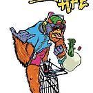 Trolley Ape! - Shirts + Other Merch by LJUDD