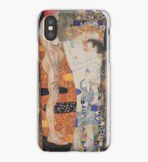 The Three Ages of Woman 1905 Gustav Klimt iPhone Case/Skin