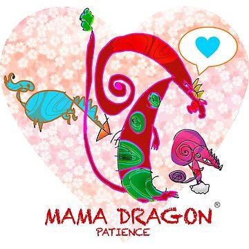 MAMA DRAGON - Geduld von Susantobiaart