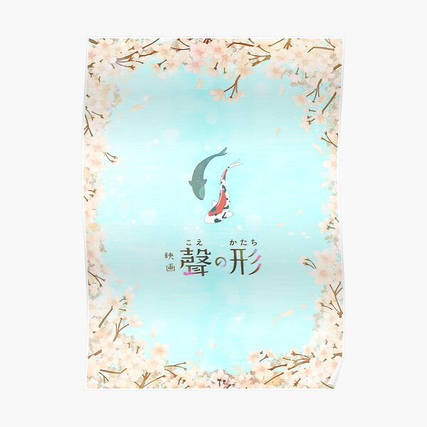 Together (Koe no Katachi inspired design) Poster
