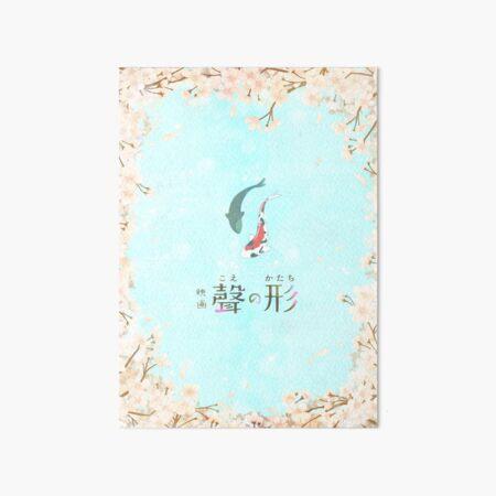 Together (Koe no Katachi inspired design) Art Board Print