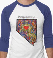 Vegas Strong Men's Baseball ¾ T-Shirt