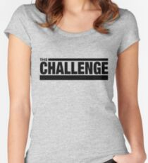 the challenge Women's Fitted Scoop T-Shirt