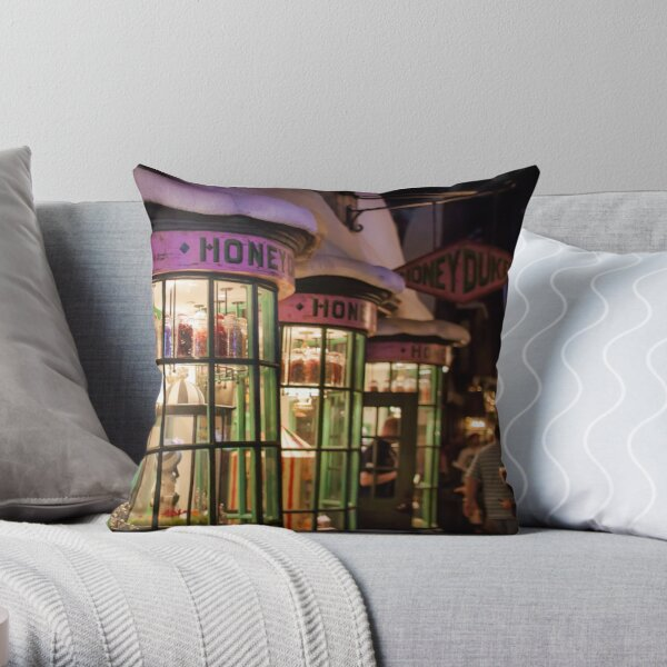 Late Night Sweet Tooth Throw Pillow