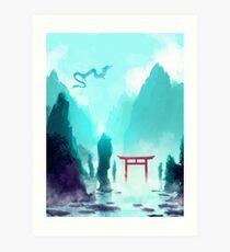 Spiriting Away Art Print