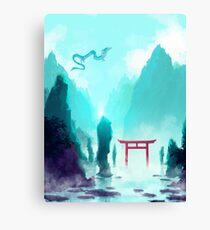 Spiriting Away Canvas Print
