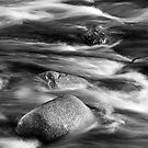 Textures In The River by Kevin Skinner
