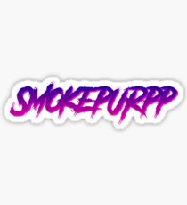 Smokepurpp hiphop trap sticker retro design Sticker
