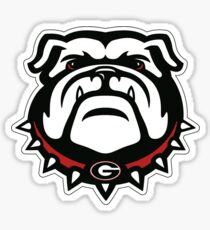 Georgia Mascot Sticker