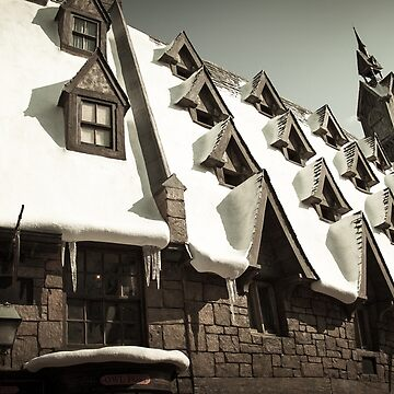 Hogsmeade Village: The Rooftops by SRisonS
