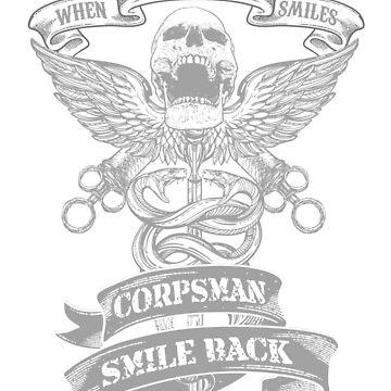 Corpsman Smile Back by tuyetnhungtn