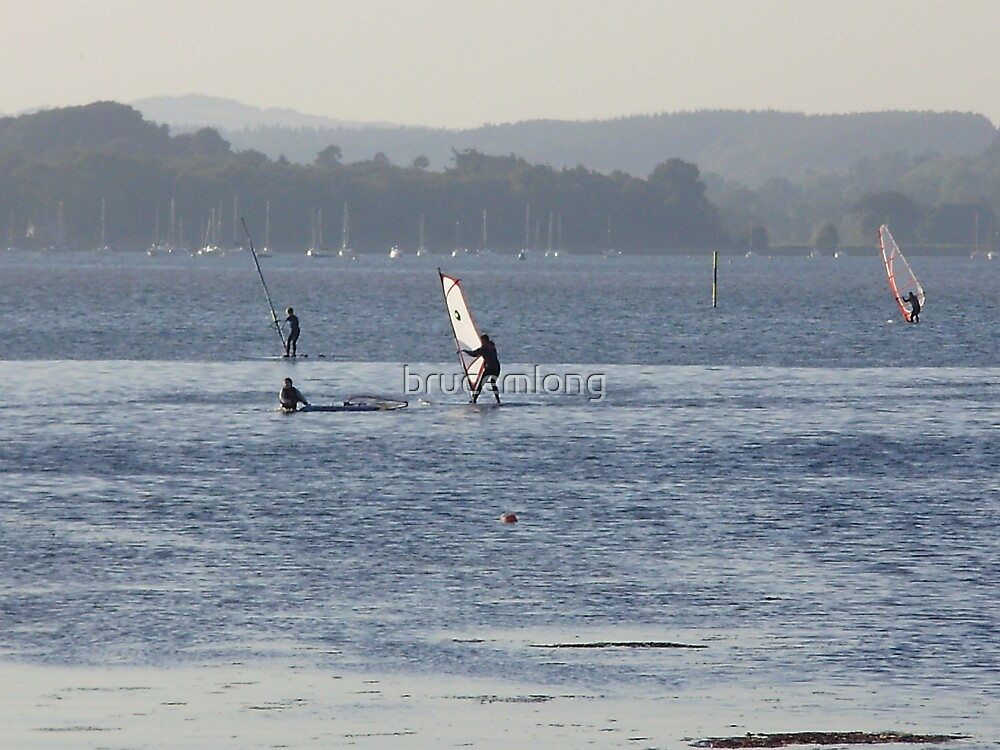 WIND SURFERS by brucemlong