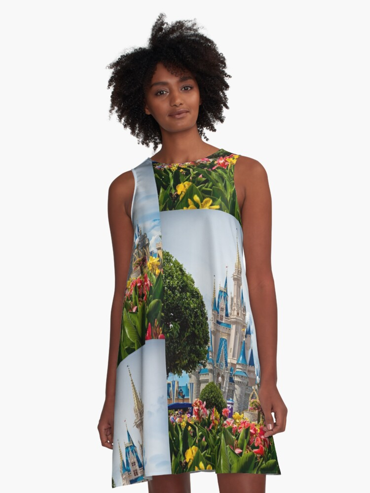 Beauty All Around A-Line Dress Front