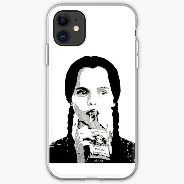 Wednesday Addams iPhone Soft Case