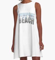 Newport Beach Rhode Island A-Line Dress