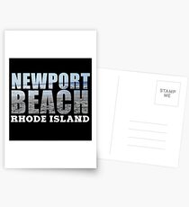 Newport Beach Rhode Island Postcards