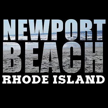 Newport Beach Rhode Island by RIHype