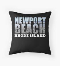 Newport Beach Rhode Island Floor Pillow