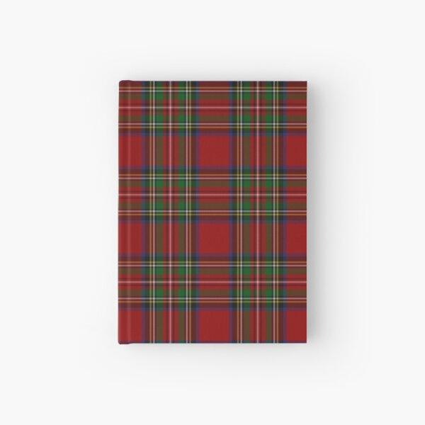 The Royal Stewart Tartan Stuart Clan Plaid Tartan Hardcover Journal