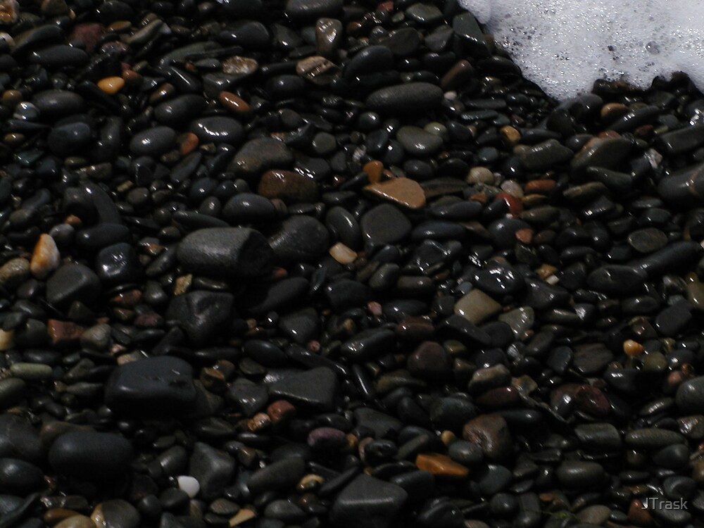 Beach Pebbles by JTrask