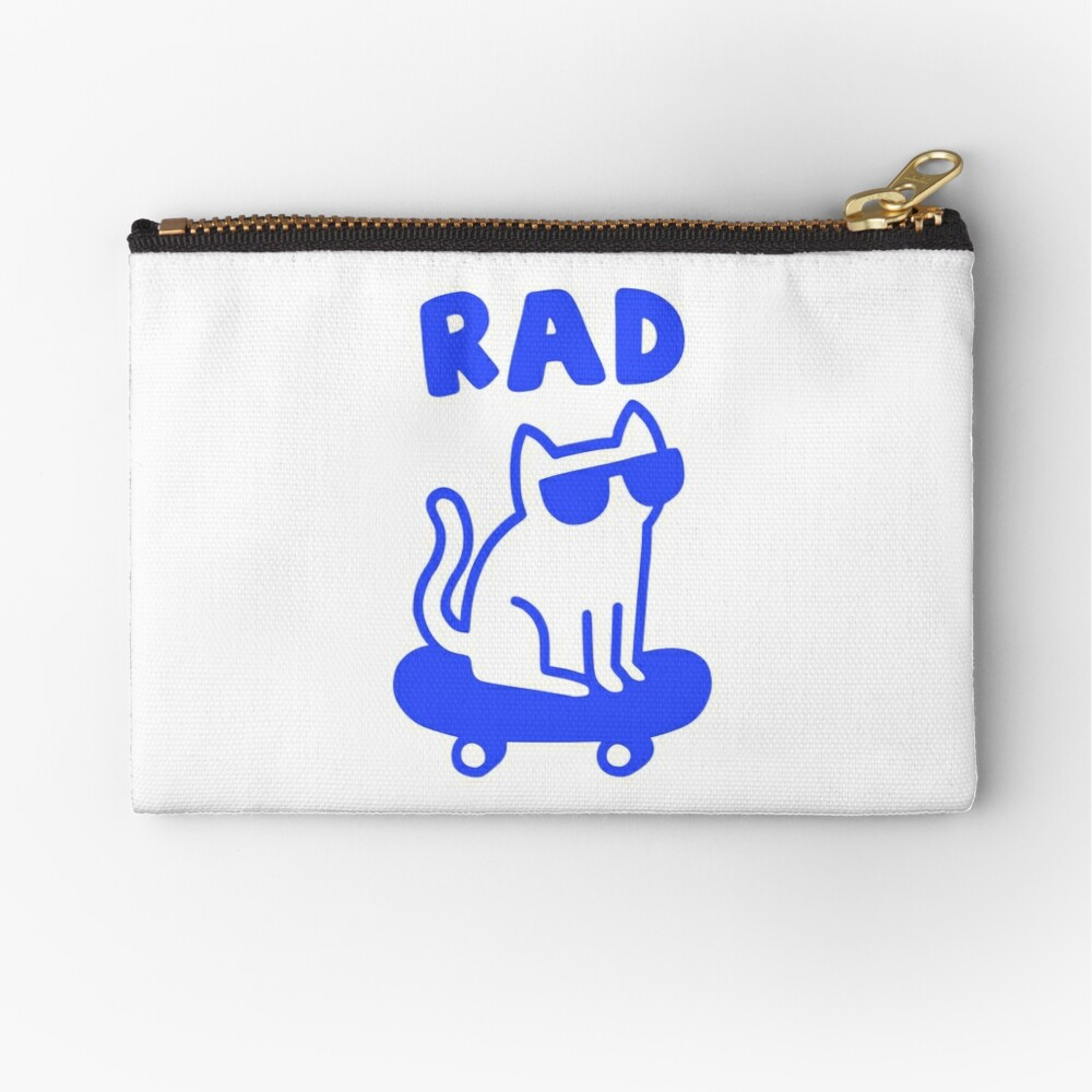 RAD CAT Zipper Pouch