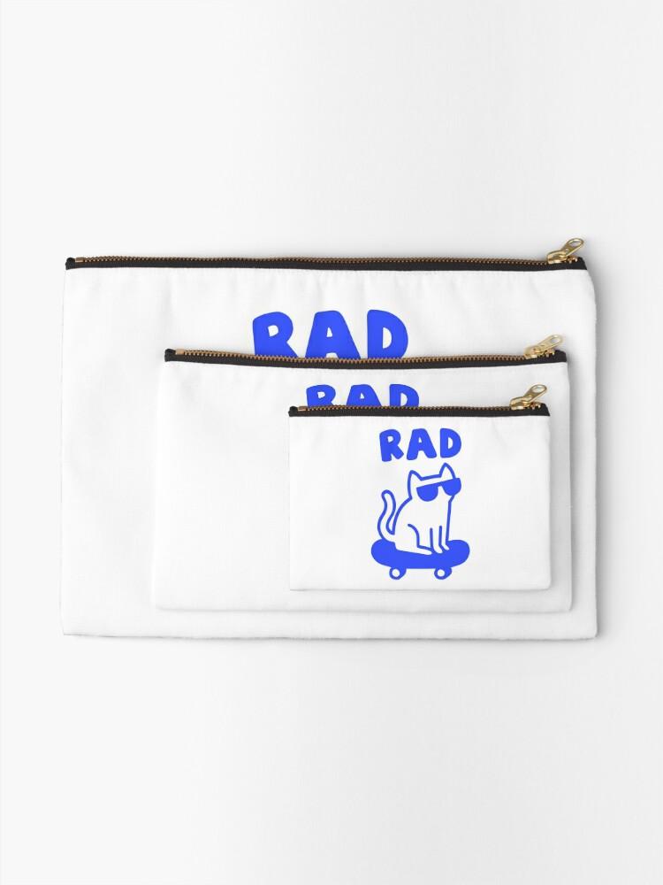 Alternate view of RAD CAT Zipper Pouch