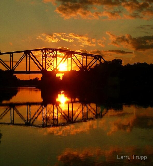The Golden Hour... by Larry Trupp