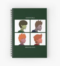 Broccoli Days Spiral Notebook