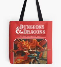 AD&D/Dungeons and Dragons Logo Tote Bag