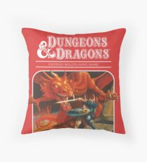 AD&D/Dungeons and Dragons Logo Throw Pillow