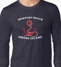 Newport Beach Anchor Long Sleeve T-Shirt