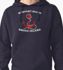 Newport Beach Anchor Pullover Hoodie