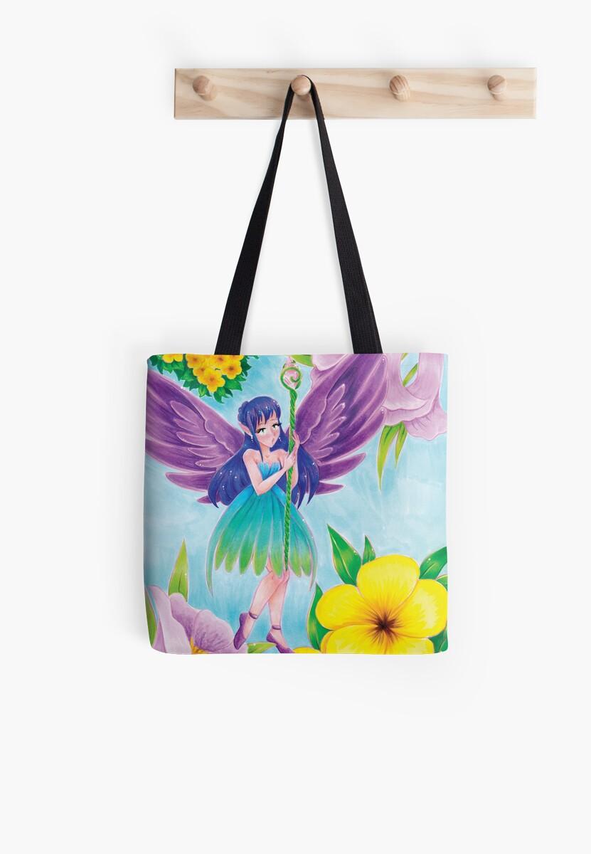 Flower Fairy by ZeliRocks