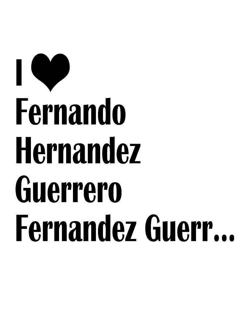«I Love Fernando» de AAbi