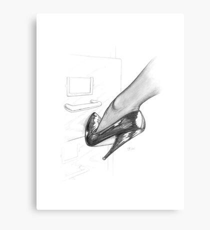 High Heel Canvas Print