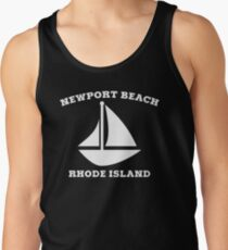 Newport Beach Sailboat Tank Top