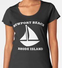 Newport Beach Sailboat Women's Premium T-Shirt