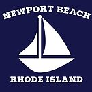 Newport Beach Sailboat by Rhode Island Hype