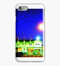 Station Pier at Night, Melbourne, Australia iPhone Case/Skin