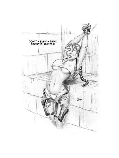 Lara-Captured by Biker