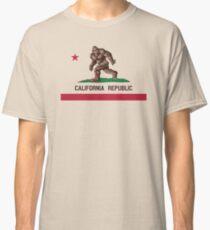 Bigfoot California Flag Classic T-Shirt