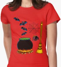 witchcraft Women's Fitted T-Shirt