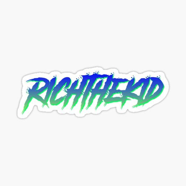 Rich the Kid hiphop trap sticker retro design Sticker
