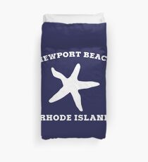 Newport Beach Starfish Duvet Cover