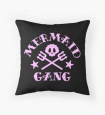 MERMAID GANG Throw Pillow
