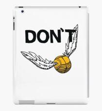 Don't Snitch iPad Case/Skin