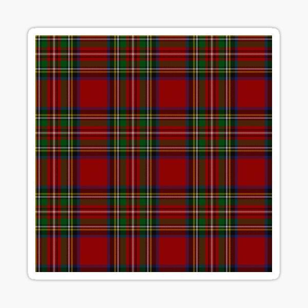 Royal Stewart Tartan Clan Sticker
