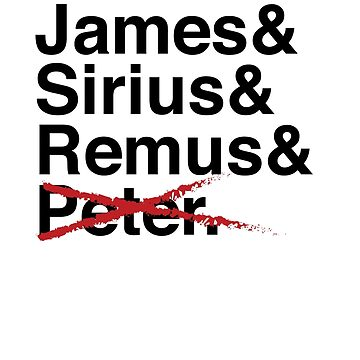 James & Sirius & Remus & X. by Kitmagic